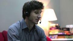 Call-Center Worker Arkistovideo