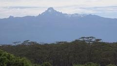 View of Mount kenya, UHD Stock Footage