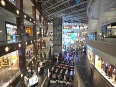 American shopping mall interior - Washington DC Stock Footage