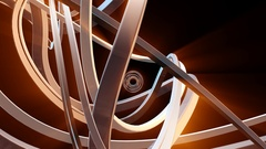 Abstract Swirl Morph Animation Stock Footage