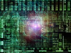 Advance of Technology Links Stock Illustration