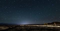 Stargazing Milky Way Stock Footage