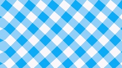 Blue gingham background waving Stock Footage