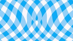 Blue gingham background flow effect Stock Footage