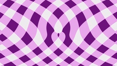Mauve gingham background flow effect Stock Footage