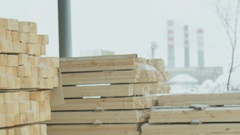 The Tree Builder Working Stock Footage