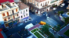 4K Central Market in old town Athens Athina Athen Greece Europe Stock Footage