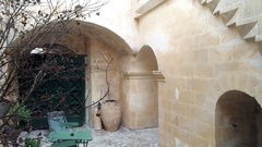 Detail  of Sassi of Matera - Italy Stock Footage