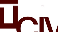 Civil engineering animated word cloud. Kinetic typography. Arkistovideo