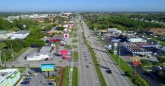 Aerial drone footage Key Largo 4k 24p Stock Footage