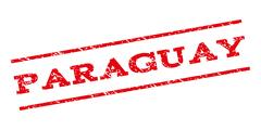 Paraguay Watermark Stamp Stock Illustration