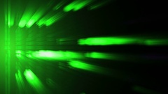 Radiation. The motion of particles in the form of numbers Stock Footage