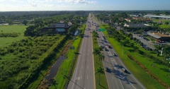 Aerial to Key West Stock Footage