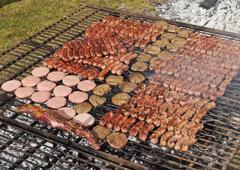 Argentine Barbecue Stock Photos