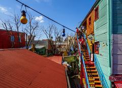 La Boca in Buenos Aires, Argentina Stock Photos