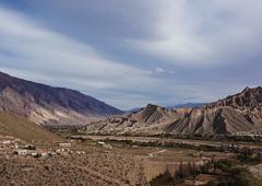 Mountains in Tilcara, Argentina Stock Photos