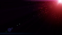 4k Red Particle seamless background Stock Footage