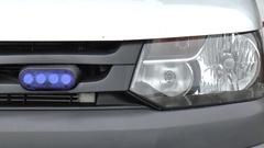 Close up of Siren, an ambulance car Arkistovideo
