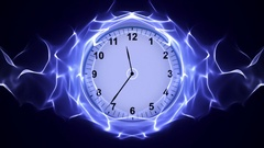 Clock Animation, Background Stock Footage