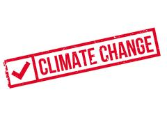 Climate Change rubber stamp Piirros