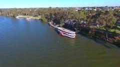 Mildura Wharf Stock Footage