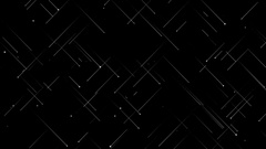 Abstract White Crossing Lines Stock Footage