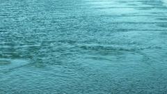 Open Water in Winter. Stock Footage