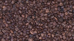 Coffee poor quality looped Stock Footage