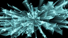 Stylish abstract engineering, technology and science motion background. Plexus Stock Footage