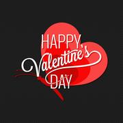 Valentines Day Butterfly Concept Background Stock Illustration
