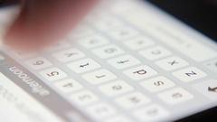 4k, man typing on the phone keypad, macro 1 Stock Footage