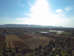 Flight Puglia's countryside 3 Stock Footage