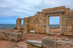 Chersonesus ruins in Crimea Stock Photos