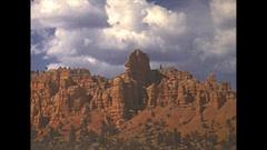 Vintage 16mm film, 1940 Utah Bryce Canyon near sunset #2 Stock Footage