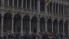 BRUSSELS, BELGIUM – Grand Place Stock Footage