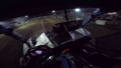 Side by side utv helmet cam drag race Arkistovideo