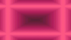 Pink step the tunnel replaces the claret screen Stock Footage