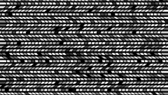 Black And White Visual Vj Loops Animation Background Stock Footage