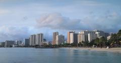 Waikiki Sunset Stock Footage