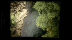 Vie river deep Stock Footage