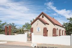 Apostolic Faith Mission Church in Koffiefontein Stock Photos