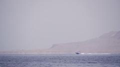 Parasailing, Parasailing Behind a Boat Stock Footage
