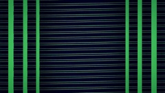 Green lines motion background video Stock Footage