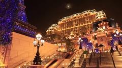 The Parisian Macau Stock Footage