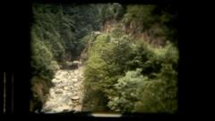 Vie river running Stock Footage
