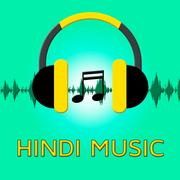 Hindi Music Means Song Soundtrack 3d Illustration Stock Illustration