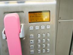 Deutsche Telekom - German telecom public street telephone Stock Footage