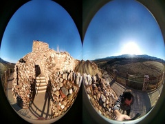 Tuzigoot National Monument Stock Footage