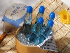 Bottled Ramune Drink Stock Footage