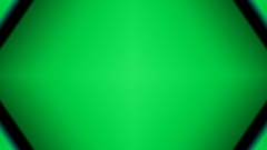 Green background is replaced with white Stock Footage